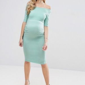 ASOS maternity Bardot dress